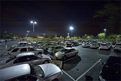 The parking lot at Casino Arizona seems to always be filled, day and night.