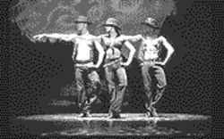 The performance highlights the choreography of Fosse.