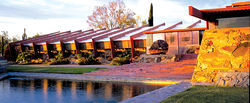 Taliesin West in 1955
