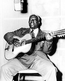 Leadbelly, one of the first to offer music for free.