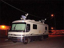 Rise of the machines: Woodbury and Rohrich built an RV with interior data shelves as a beta version of the S.P.E.A.R..