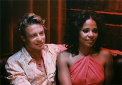 Mixed bag: Simon Baker and Sanaa Lathan defy the black-movie-couple stereotypes in Something New.