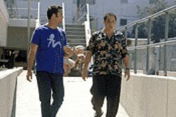 Reunited and it feels so bad: Swingers stars  Vince Vaughn and Jon Favreau try to get their groove  back in Made.