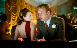 Emma Stone and Ryan Gosling star in Gangster Squad