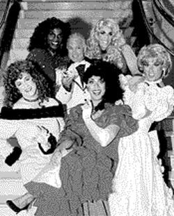 Wigging out: The cast of Pageant -- The Musical.