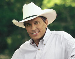 George Strait: As low key as they come.