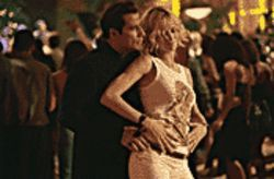 Dance fever: John Travolta and Uma Thurman cut a rug à la Pulp Fiction in the déjà vu sequel Be Cool.