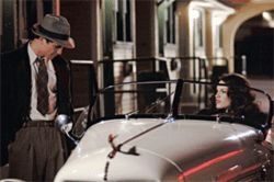 Unsolved mystery: Josh Hartnett (left, with Hilary Swank) is a cop investigating the murder of The Black Dahlia.