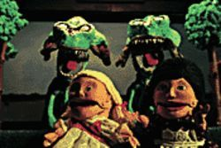 Not your kid's puppet show: Flesh Eating Ghouls from Outer Space.