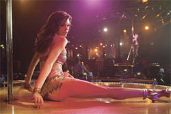 The most dangerous gam: Rose McGowan in the Planet Terror segment of Grindhouse. (Come on, you've seen the trailer.)