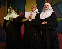 Sister, act! The boys of Nunsense, Amen.