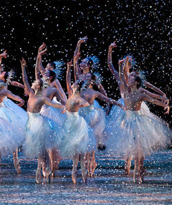 The falling flakes of Ballet Arizona&#039;s The Nutcracker help keep the company on ice.