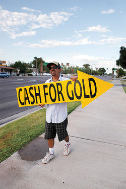 The increase in &quot;cash for gold&quot; businesses across the Valley is the most visible local indication of recent record-setting gold prices.
