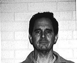 The prison mugshot of Jim Clark