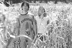 Fear the Creeper: Justin Long and Nicki Aycox try to avoid becoming monster meat  in Jeepers Creepers 2.