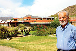 Taliesin's Arnold Roy, today.