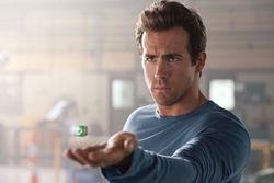 Dim prospects: Ryan Reynolds has little more than CG-enhanced physique going for him in Green Lantern.