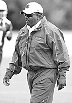 Dennis Green embarks on his first season as head coach of the Arizona Cardinals.