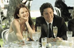 Monogamy — what a concept: Jacinda Barrett and Zach Braff are a couple in like with each other in The Last Kiss.