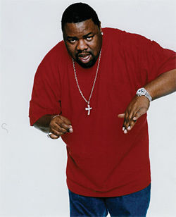 Hip-hop superstar Biz Markie shows off his DJ skills at the Skybar, inside Mondrian Scottsdale, on Halloween night.