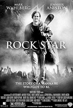 Mark Wahlberg in Rock Star: Can you feel the  heat comin' from his gun?
