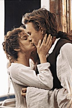 True lust: Sienna Miller and Heath Ledger are opposites who attract in Casanova.