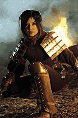 Zhao Wei in Sony Pictures Classics&#039; Warriors of Heaven and Earth.