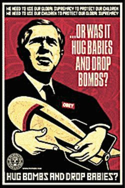 Hug Bombs by Shepard Fairey