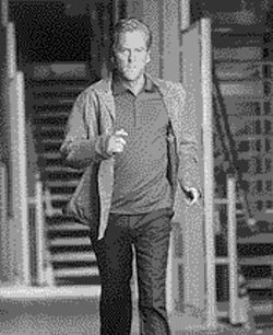 Eye of the needle: In 24, Kiefer Sutherland plays Jack Bauer, a government agent who has 24 hours to stop an assassination attempt.
