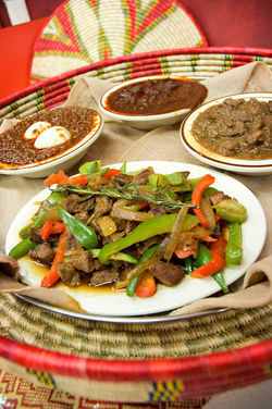 Ethiopian Famous fills a niche for Central Phoenix fans of the African cuisine.