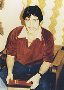 Terry Keenan, a few months before he was shot and killed at Sundale Manor.