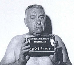 Rodgers' 1987 booking photo
