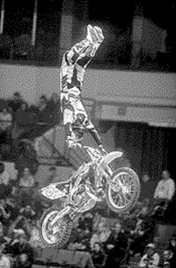 Frequent flyer: Freestyle motocross comes to the Valley.