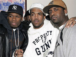 G-Unit, sponsors of the One Stop Shop conference in Phoenix.