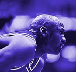 Michael Jordan's intensity, if not his real life story, comes through in To the Max.
