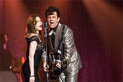 Insert dick joke here: Jenna Fischer and John C. Reilly send up Johnny and June in Walk Hard: The Dewey Cox Story.