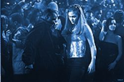 MTV Romeo: Sean Patrick Thomas as Derek and Julia Stiles as Sara in Save the Last Dance.