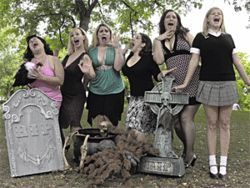 Shriek-fest: The ladies of  Scream Queens.