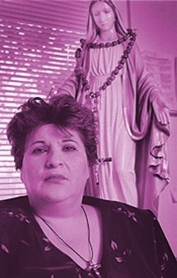 Juanita Encinas, a Chandler activist and former United  Farm Workers leader, lobbied for Hernandez's  appointment by the diocese.