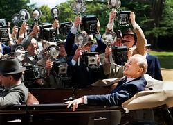 Bill Murray stars as FDR in Hyde Park on the Hudson.