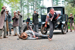 Shia LaBeouf stars in Lawless.