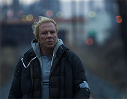 Comeback kid: Mickey Rourke stars in Darren Aronofsky's The Wrestler.