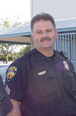 Florence Police Lieutenant Terry Tryon