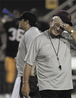 Dennis Erickson, ASU's new football coach