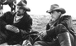 Star grazers: Kevin Costner and Robert Duvall are cattlemen in a changing world in Open Range.