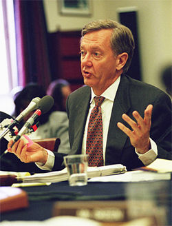 Renzi arrogantly thought he could fool former Arizona Governor Bruce Babbitt.