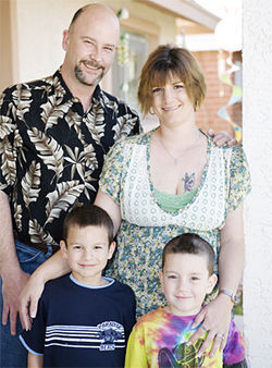"Shannon Wilcutt, with her husband and two of her sons, saw just scary ""zero tolerance"" can be."
