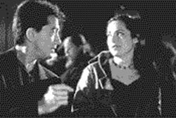 Bread and circuses: Scott Baio and Kristin Minter in The Bread, My Sweet.