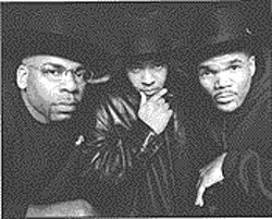 &quot;It&#039;s like that&quot;: The murder of Jam Master Jay (left) spurs hip-hop reflection.
