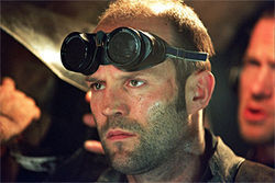 Complete sentences: Finally, Jason Statham has something to work with in The Bank Job.